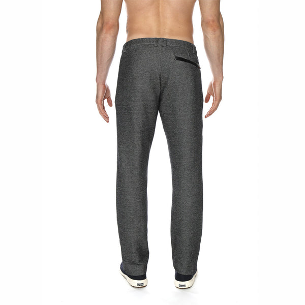 Aspen Knit Trouser w/Leather Accents