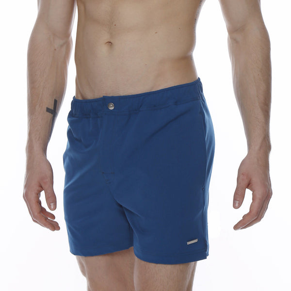 "5"" Bright Naples Solid Stretch Swim Trunk"