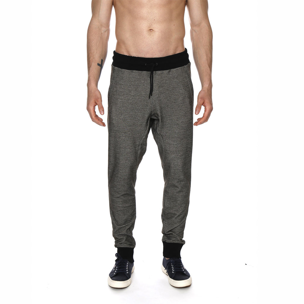 [parke & ronen] F1 Stretch Knit Twill Jogger Pant - black