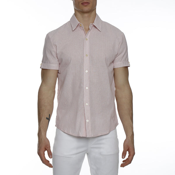 Striped Lowell Short Sleeve Shirt
