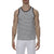 [parke & ronen] Multi. Stripe Stretch Tank Top - grey/black stripe (Thumbnail)