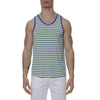 [parke & ronen] Multi. Stripe Stretch Tank Top - kelly/royal stripe (Thumbnail)