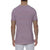 [parke & ronen] Multi. Contrast Stripe Stretch Crewneck Tee - red/royal stripe (Thumbnail)