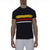 [parke & ronen] Bold Contrast Striped Beefy Jersey Palma Crewneck Tee - navy (Thumbnail)