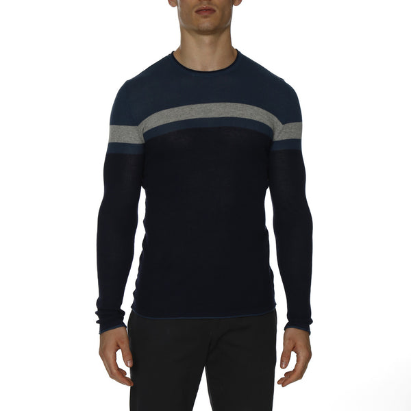 Grand Prix Colorblock Long Sleeve Waffle Knit Thermal