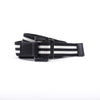 [parke & ronen] Double Stripe Battalion D-Ring Belt - black/white stripe (Thumbnail)
