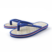ROYAL Coconut Beach Flip Flops w/ Contrast Striped Sole - parke & ronen