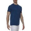[parke & ronen] Solid Knit Crewneck Tee - seaport (Thumbnail)