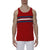 [parke & ronen] Regatta Stripe Knit Tank Top - red (Thumbnail)