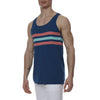 [parke & ronen] Regatta Stripe Knit Tank Top - seaport (Thumbnail)
