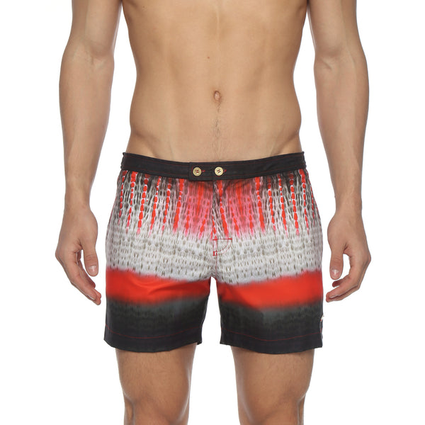 "5"" Telluride Print Lido Stretch Tailored Swim Trunk"