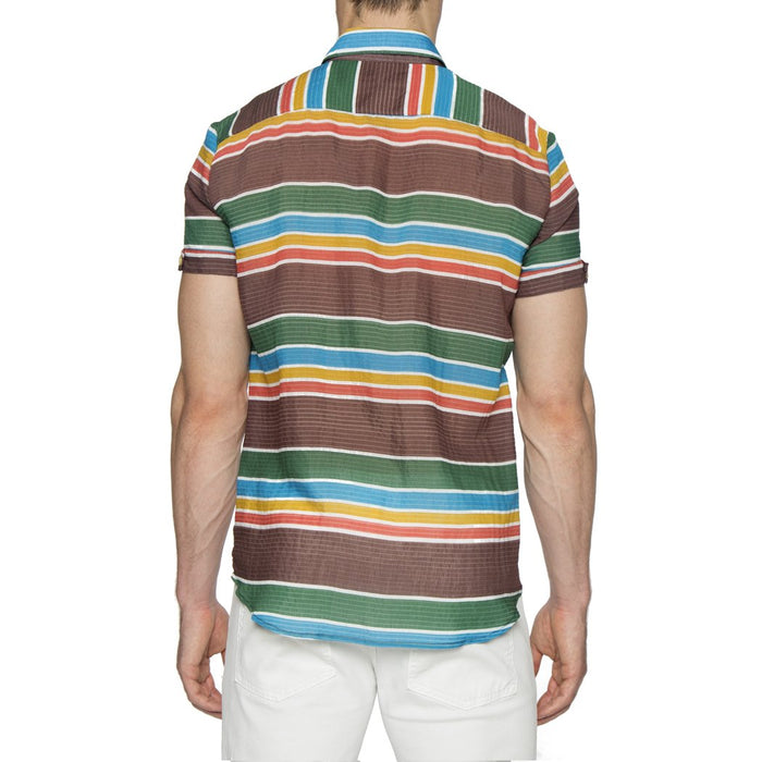 Brown Multi Stripe