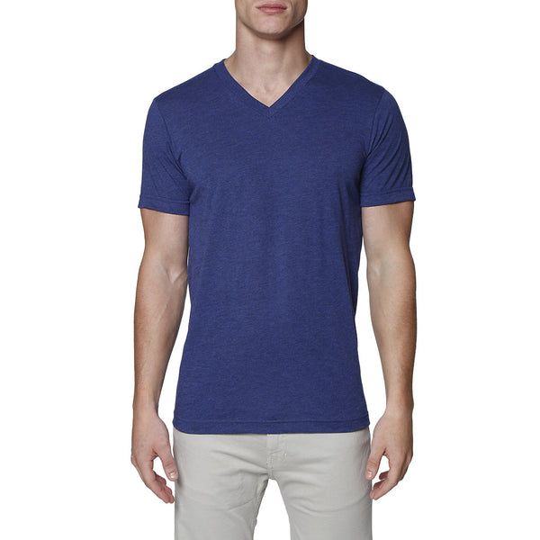 Solid Triblend V-Neck Tee