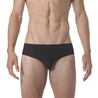 NEW - Honey Comb Low Brief - Jet Black - parke & ronen