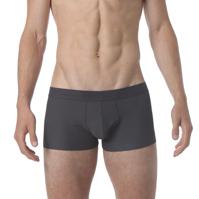 Honey Comb Low Trunk - Iron Grey - parke & ronen