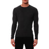 [parke & ronen] Solid Long Sleeve Thermal - charcoal (Thumbnail)