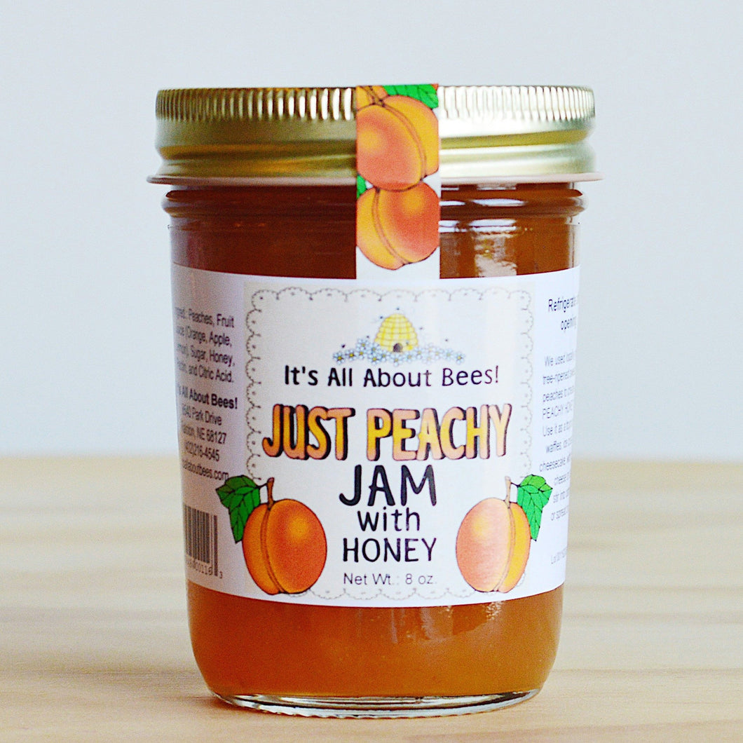 It's All About Bees! Just Peachy Jam
