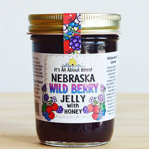 It's All About Bees Wild Berry Jelly