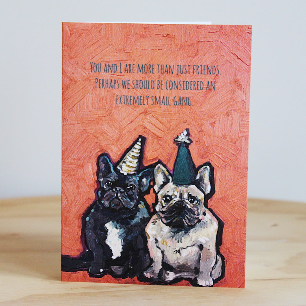 Beautifully Said Small Gang Card