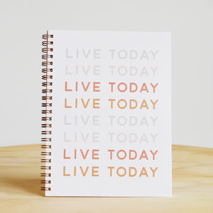 "The Anastasia Co. ""Live Today"" Journal"