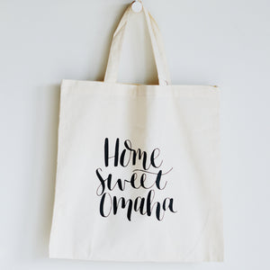 Pleasant Avenue Paper Co. Home Sweet Omaha Tote