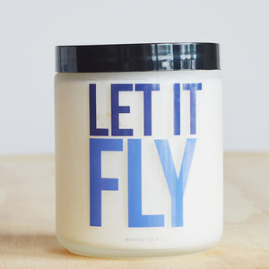 "NoMad Wax Co. Creighton Blue Jays ""Let It Fly"" Candle"