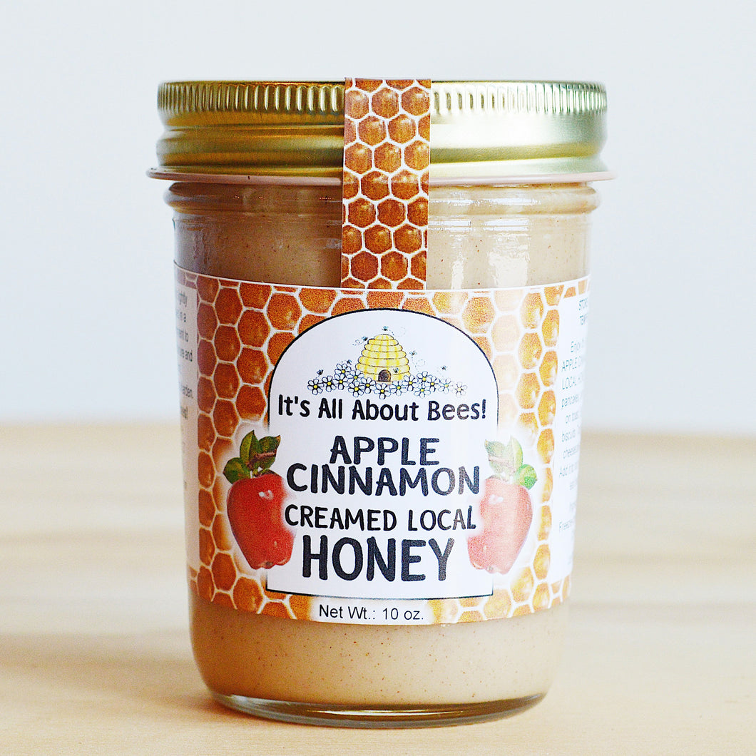 It's All About Bees! Apple Cinnamon Creamed Honey