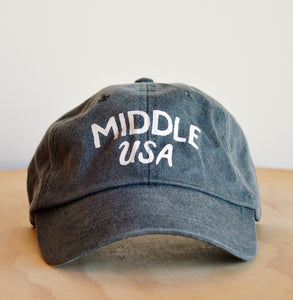 Little Mountain Print Shoppe Middle USA Hat