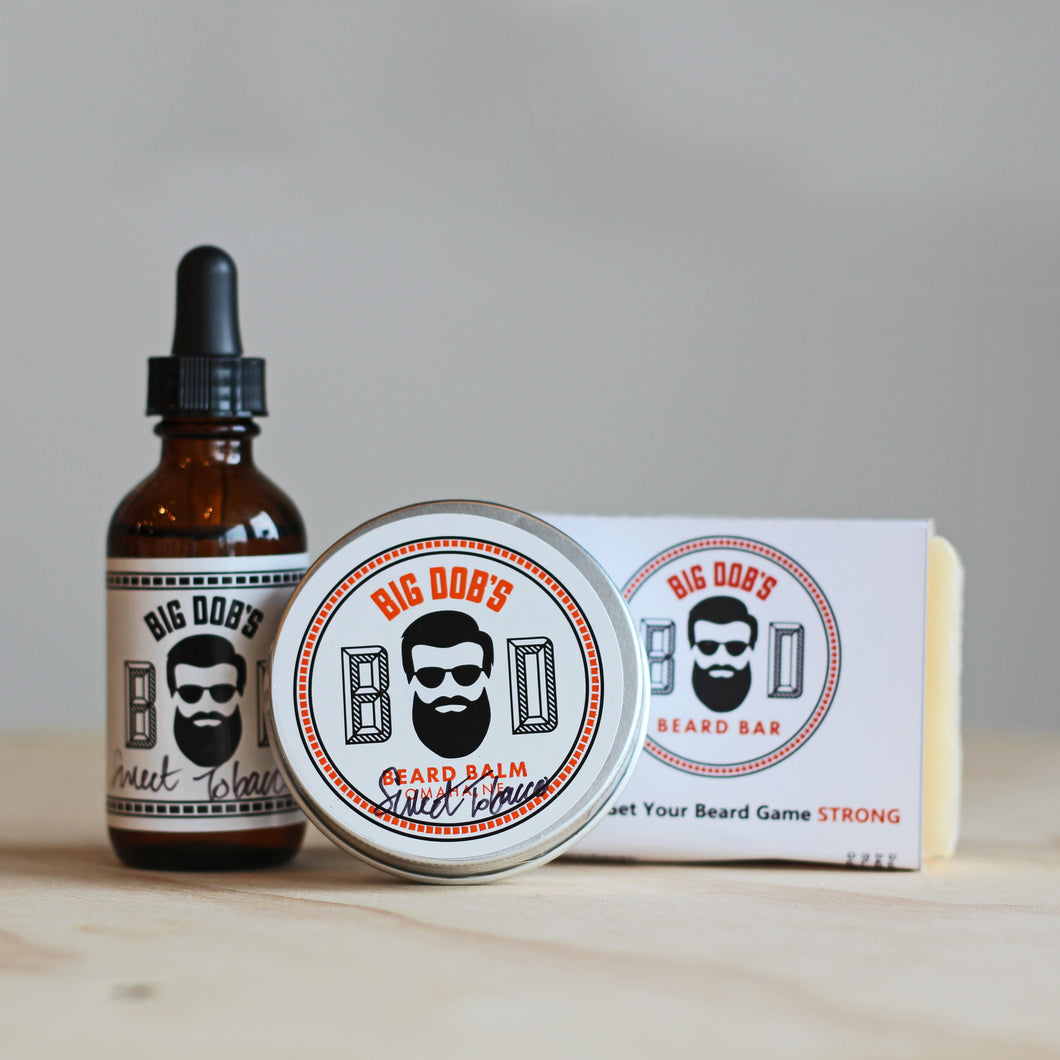 Big Dob's Beard Balm Gift Set