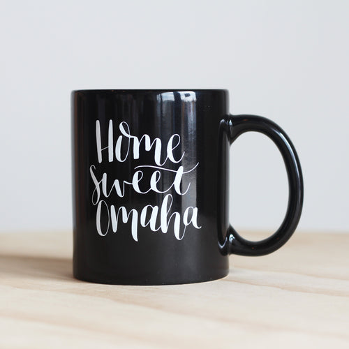 Pleasant Avenue Paper Co. Home Sweet Omaha Mug