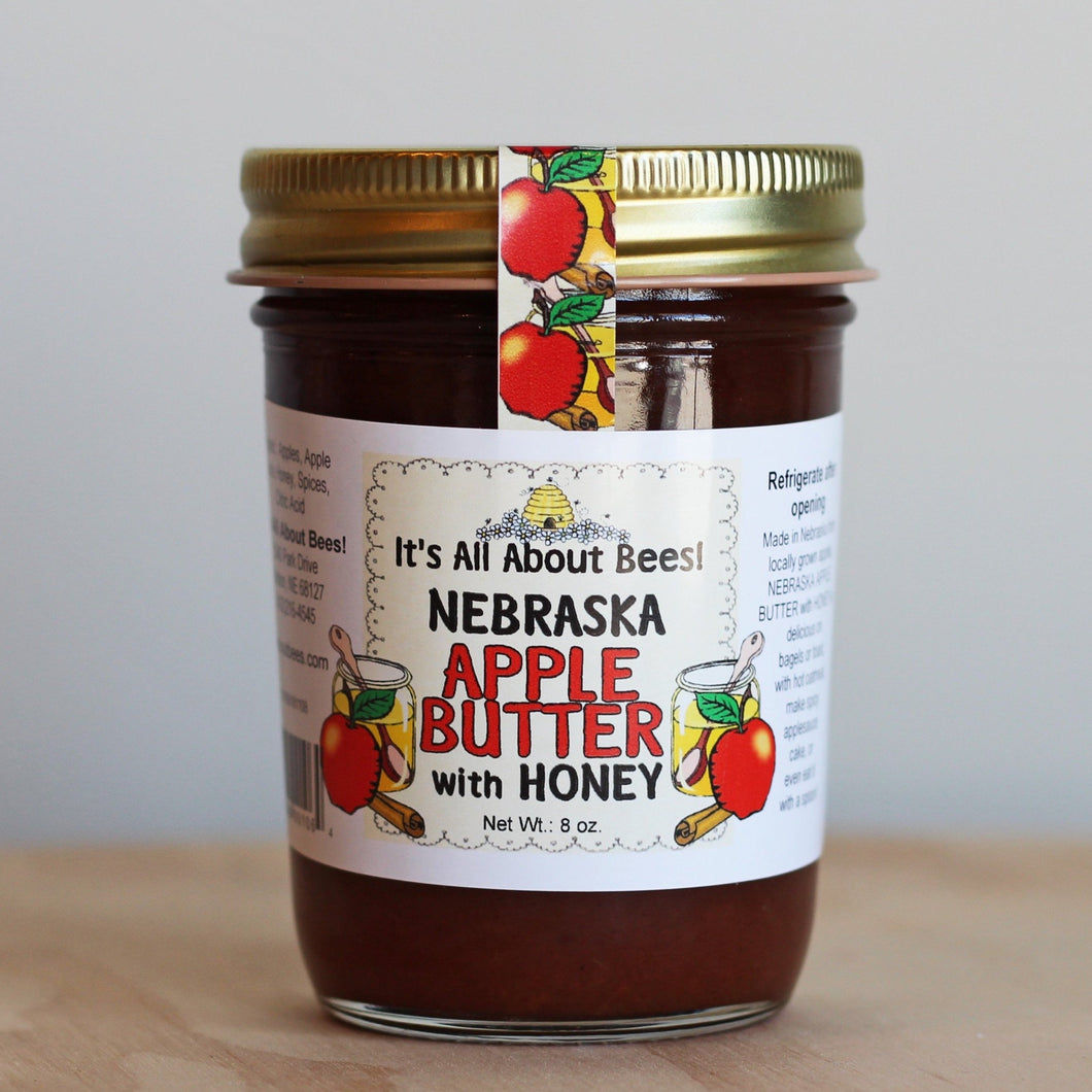 It's All About Bees! Nebraska Apple Butter with Honey