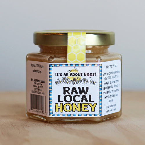 It's All About Bees! Honey Hex Jar