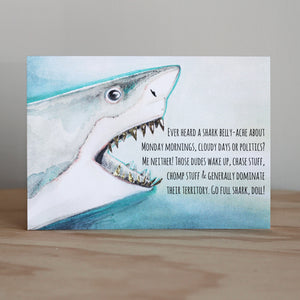 Beautifully Said Full Shark Card