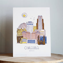 Load image into Gallery viewer, Omaha Skyline Print