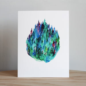 "Stubborn Dog Artwork ""Mulberry Pines"" Print"