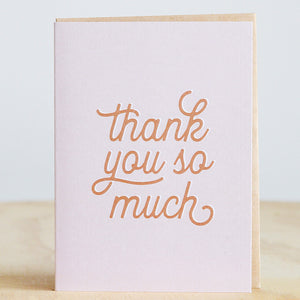 "The Anastasia Co. ""Thank You So Much"" Card"