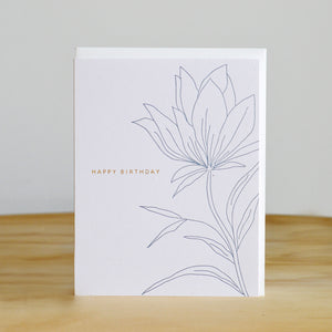 Ramona & Ruth Birthday Botanical Card