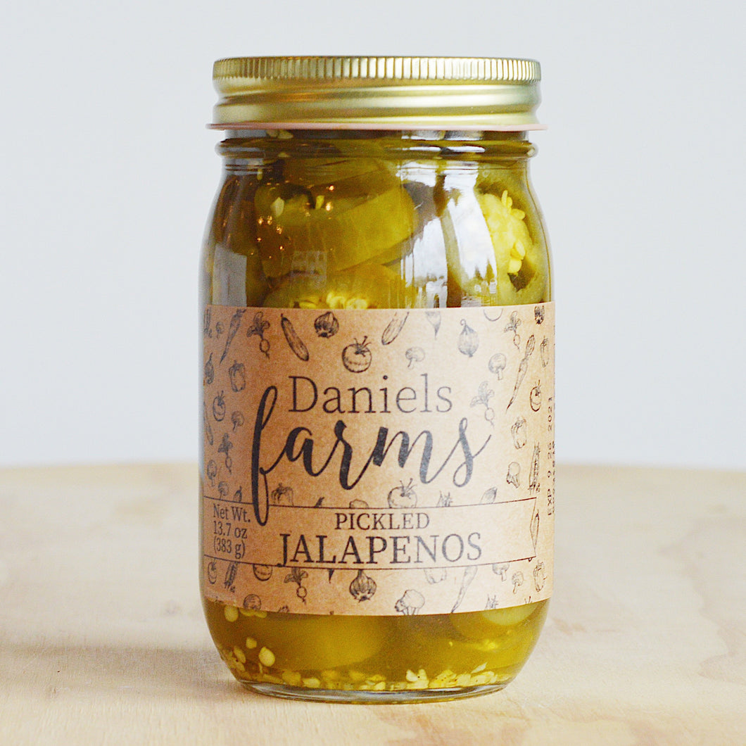 Daniels Farms Pickled Jalapenos