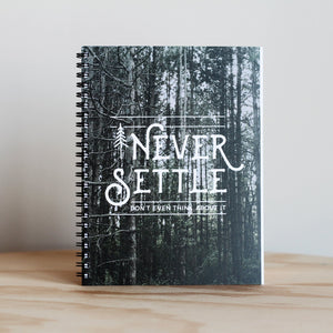 "The Anastasia Co. ""Never Settle"" Journal"