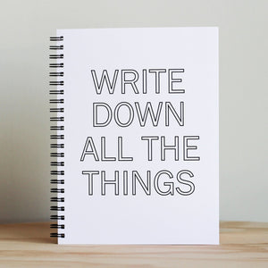 "The Anastasia Co. ""Write Down All The Things"""