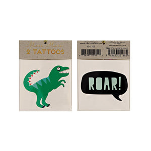 Dinosaur Tattoos (Pack of 2)