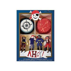 Ahoy There! Pirates Cupcake Kit