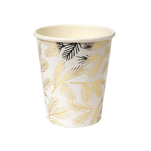 Gold Pine Cups (Pack of 8)