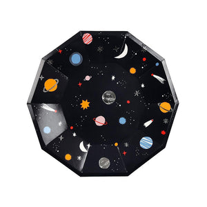 Space Large Plates (Pack of 8)
