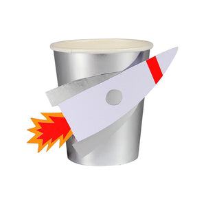 Space Rocket Cups (Pack of 8)