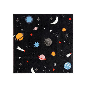 Space Small Napkins (Pack of 16)