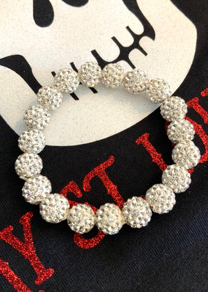 Drop of Glam Bracelet-White