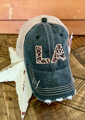 Louisiana Leopard Cap
