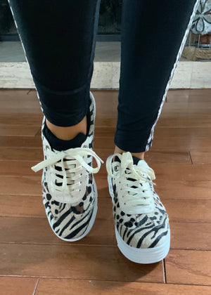 Safari Trek Animal Print Sneaker