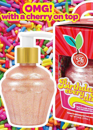 Birthday Everyday Glitter Lotion
